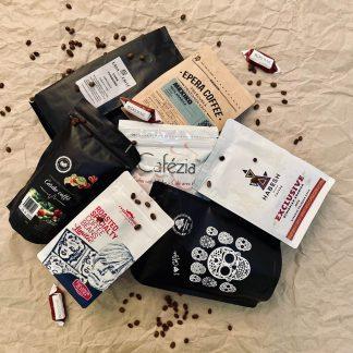 blog o káve - kávový balík