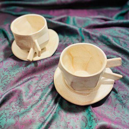 šálka na kávu, úžitková keramika