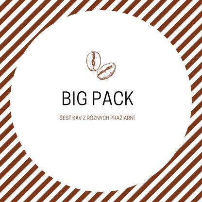 Big pack - šesť káv zo šiestich pražiarní