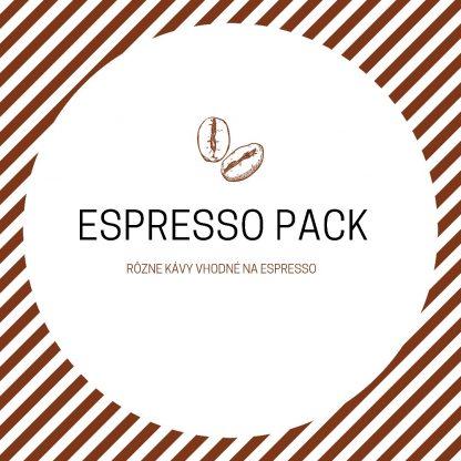 Espresso pack - balík káv na espresso