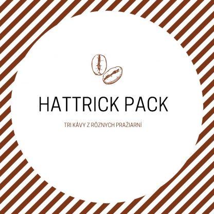 Hattrick pack - tri kávy z troch rôznych pražiarní